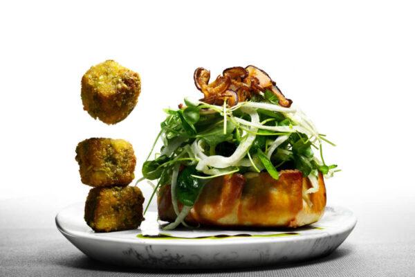 Mushroom & Fennel Crostata