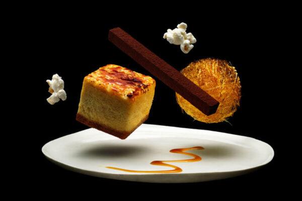 Popcorn Cheesecake Brulee